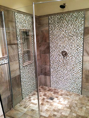 custom ceramic tile work